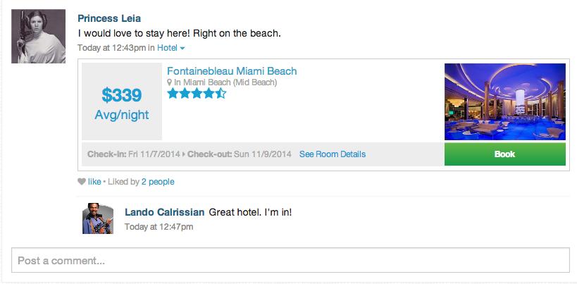 Hotel integration
