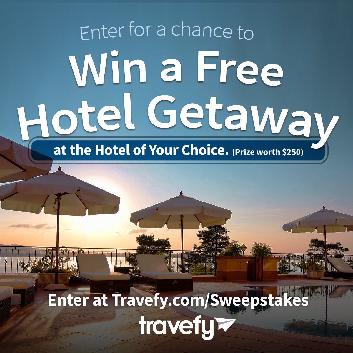 Travefy Free Hotel Giveaway