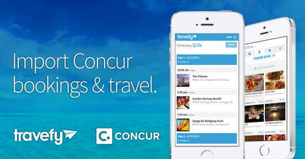 Import Concur Travel to Travefy